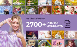 inkydeals – The Entire Store Of 2700+ Photo Overlays FREE